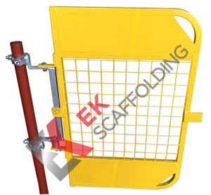 Building Material Scaffolding Spring Ladder Access Operated Safety Gate