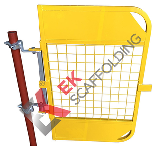 Spring Ladder Access Operated Scaffolding Safety Gate