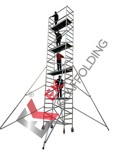 Aluminium Work-Height Mobile Platform Aluminum Scaffold Tower