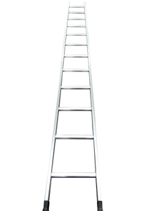 BS Standard Aluminium Scaffolding Straight Ladder for Construction
