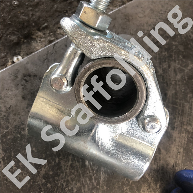 British Single Clamp Drop Forged Scaffolding Putlog Coupler