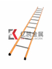Building Material Width 410mm Plated Powder Coated Steel Straight Pole 61x30.5mm Ladder for Scaffolding for Construction