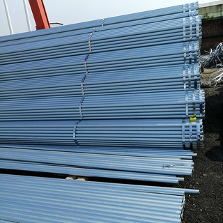 Scaffolding Steel Tube EN39 Galvanized Scaffold Pipe OD48.3x3.2mm