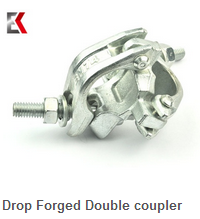 Drop Forged Double Coupler Scaffolding Right Angle Fitting Scaffolds 90 Degree Clamp