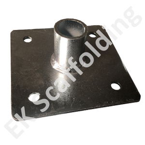 Galvanized Welded Scaffolding Steel Hollow Base Plate