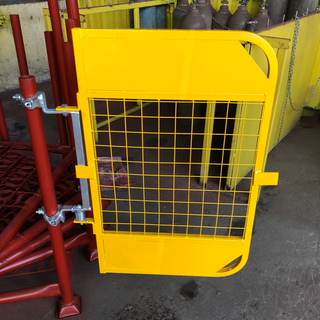 Steel Painted Scaffolding Safety Gate for Construction
