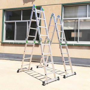4X4 Steps Foldable Aluminum Ladder