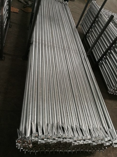 Hot Dip Galvanized HDG Ringlock System Scaffolding Diagonal Brace