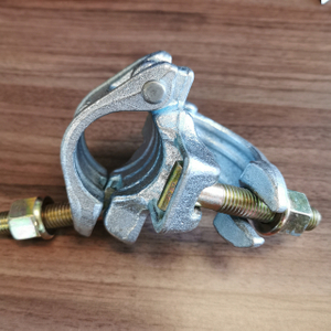 Scaffolding German Type Drop Forged Double Coupler