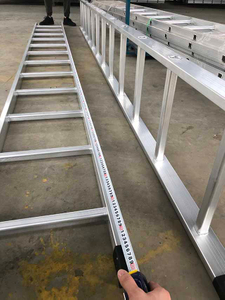 Aluminum Scaffolding Multi Purpose Step Stright Ladders
