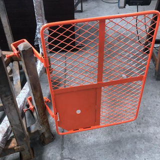 Painted Scaffolding Safety Gate for Construction