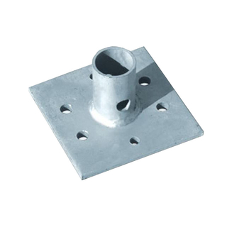 150mm HDG Base Plate for Construction
