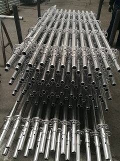 Hot Dipped Galvanized HDG Ringlock Scaffolding Standard