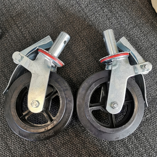 Duty Rubber Scaffolding Accessories Caster Wheel