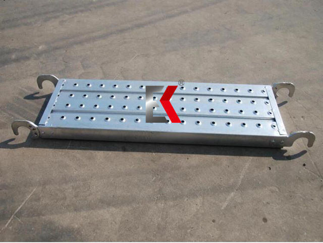 Scaffolding Hook Plank Galvanized Steel Catwalk Board Metal Platform